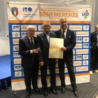 La LND premia il segretario del Brindisi FC