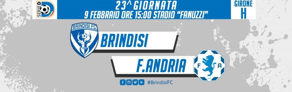 BRINDISI-FIDELIS ANDRIA, BIGLIETTI IN VENDITA ALLO STADIO