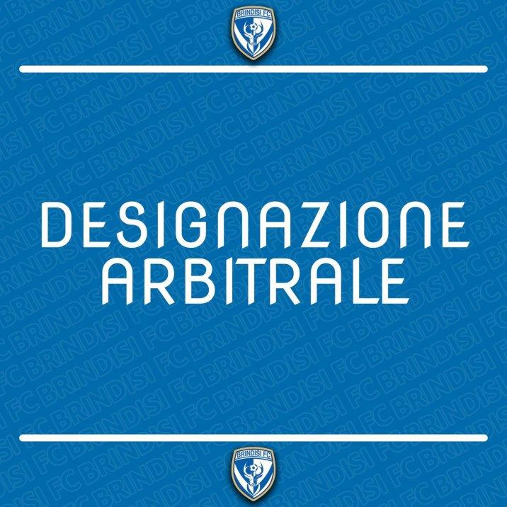 Designazione arbitrale SSD Brindisi - Virtus Matino