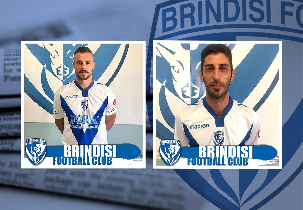 La SSD Brindisi FC comunica il tesseramento dei giocatori Ianniciello e Antenucci