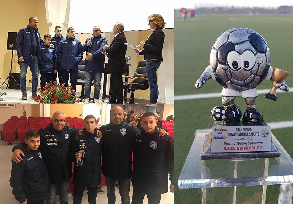 Premiati i giovani del Brindisi FC