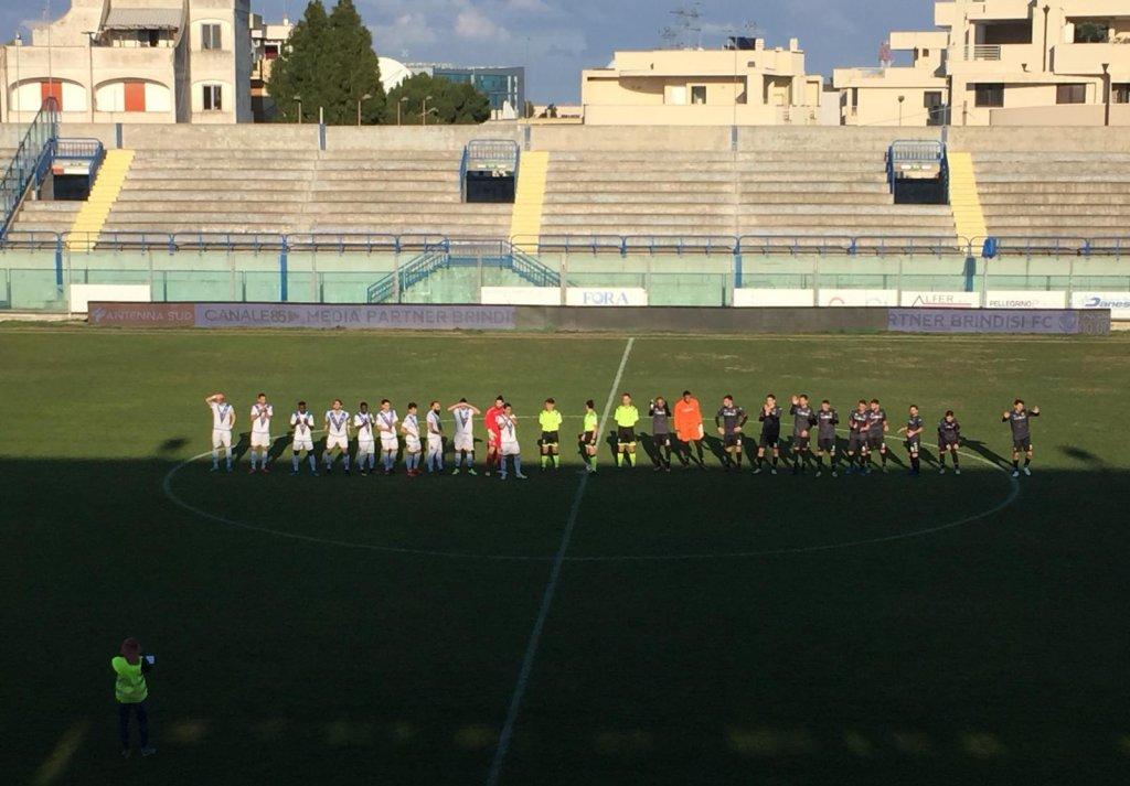 #SERIED BRINDISI-CASARANO 1-1: CRONACA E TABELLINO