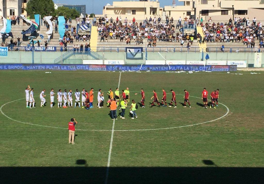 #SERIED BRINDISI-FOGGIA 1-1: CRONACA E TABELLINO