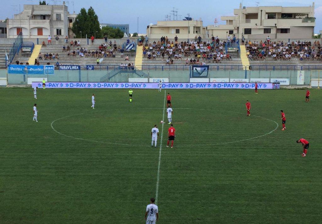 #SERIED BRINDISI-NOCERINA 1-0: CRONACA E TABELLINO