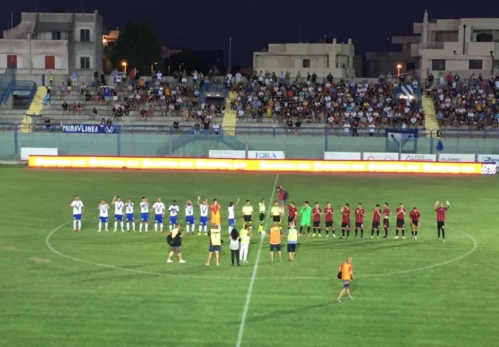 BRINDISI-FOGGIA 0-1: CRONACA E TABELLINO