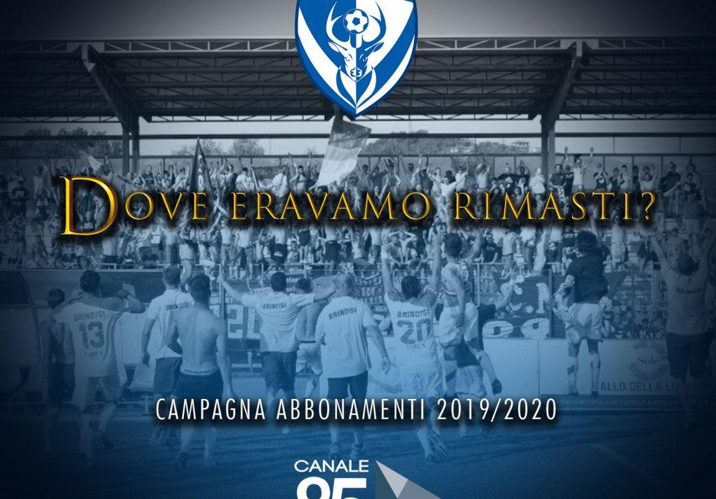 Campagna abbonamenti stagione 2019/2020